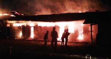 Sekolah Tinggi Theologi di Timika Ludes Dilalap Api