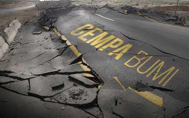 Gempa di Sumba Barat Akibatkan Pergeseran Permukaan Tanah