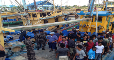 KKP Tangkap Tujuh Kapal Pencuri Ikan Asal Malaysia