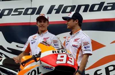 Semoga Marquez dan Pedrosa Puas dengan RC213V Terbaru