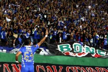 Atmosfer Bobotoh di Stadion Siliwangi seperti di Liga Champions