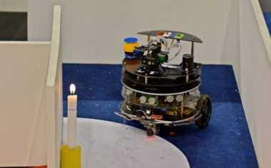 Robot Pemadam Api Karya Mahasiswa Sidoarjo