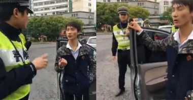 Ditilang Polisi, Pemuda China Ngaku Keturunan Bangsawan Alien