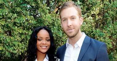 Calvin Harris & Rihanna Kembali Reuni