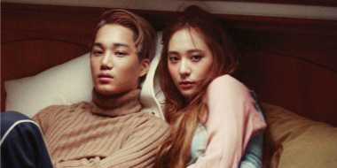 Wah, Kai dan Krystal Ketahuan Beli Kondom Bareng