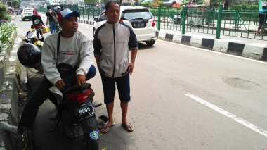 Mogok Massal, Sopir Angkot di Bogor Jadi Tukang Ojek Dadakan