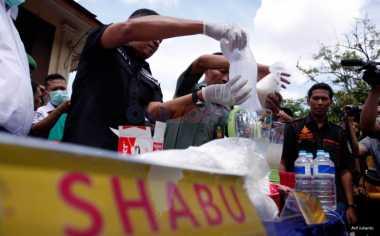Sabu Seberat 3,4 Kg Milik Oknum Polisi Dimusnahkan