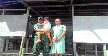 Cerita Prajurit TNI Dua Tahun Hidup Tanpa Listrik di Pedalaman Papua