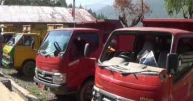 Lima Mobil Dinas Kebersihan Aceh Disandera