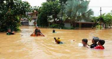 Banjir di Lebak Rendam Tiga Desa