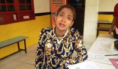 Tak Tahan Diperas, Ibu Hamil Muda Menangis saat Lapor Polisi