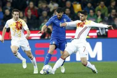 Inter dan Atletico Berebut Winger Timnas Italia
