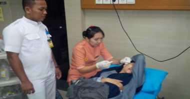 Plafon Rumah Sakit Runtuh, Dua Pasien Terluka