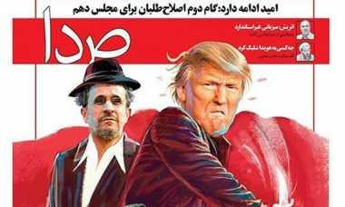Warga Iran Samakan Trump dengan Ahmadinejad