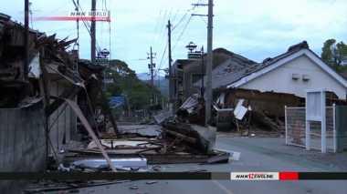 Hingga Hari Ini Gempa Terus Guncang Wilayah Kyushu