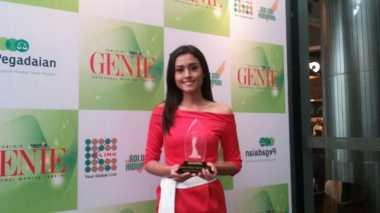 Begini Ungkapan Perasaan Maria Harfanti Raih Genie Award