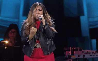 Giliran Afni yang Disingkirkan Astrid di The Voice Indonesia