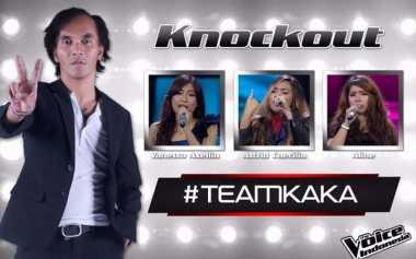 Skuad Lengkap Tim Coach Agnez Mo dan Coach Kaka di Babak Live Show