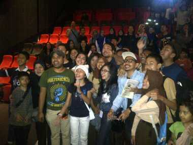 Hebohnya Meet and Greet Pemain Surat Cinta Untuk Kartini di Bandung
