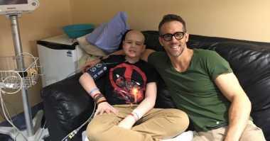 Fans Deadpool Meninggal, Ryan Reynold Tulis Pesan Menyentuh