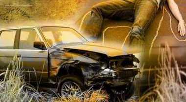 Kecelakaan Tunggal, Mobil Pajero Terbalik di Tol Ancol