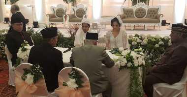 Mendagri Tjahjo Kumulo Jadi Saksi Pernikahan Putra Rano Karno