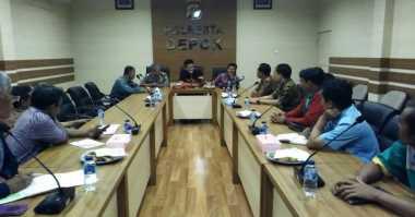 Sambangi Polresta Depok, Buruh Audiensi Jelang May Day