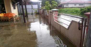 Hujan Dua Jam, Permukiman Warga di Serang Terendam Banjir