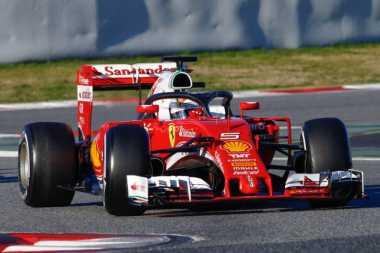 Vettel Dijatuhi Penalti Lima Posisi di GP Rusia