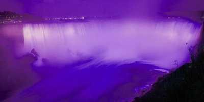 TOP TRAVEL 1: Air Terjun Niagara Mendadak Ungu