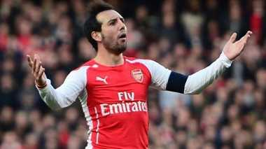 Cedera Cazorla Bukan Alasan Arsenal Gagal Juara