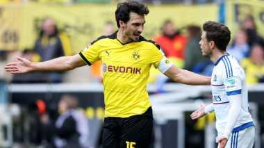 Ingin Hengkang ke Bayern, Hummels Tetap Jadi Kapten Dortmund