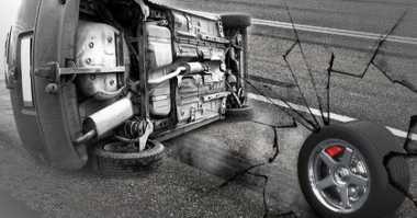 Rem Blong, Bus Rombongan Pengantin Terguling