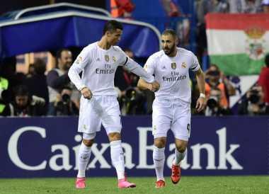 Ronaldo dan Benzema Bugar Kontra City