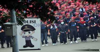 Ratusan Ribu Buruh Serbu Jakarta Hari Ini