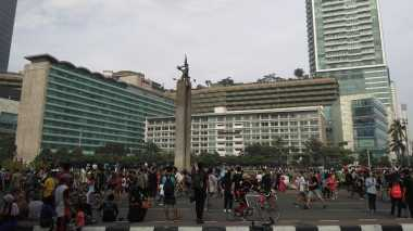 May Day, Masyarakat Tetap Antusias saat Car Free Day