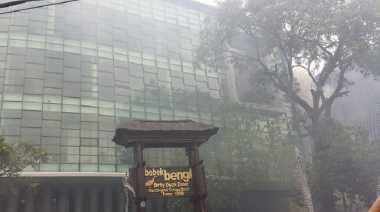 Restoran Bebek Bengil Terbakar, Api Berasal dari Kompor
