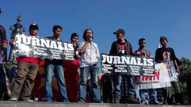 Hari Buruh, Aliansi Jurnalis Independen Denpasar Tolak Upah Murah