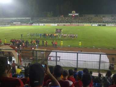 Madura United Bikin PS TNI Tersungkur di Babak Pertama