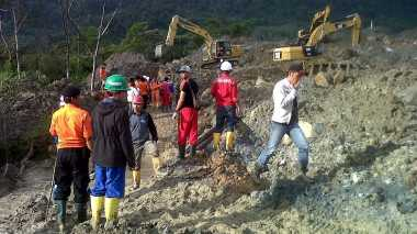 Hari Kelima, Pencarian Korban Longsor Difokuskan di Dua Titik