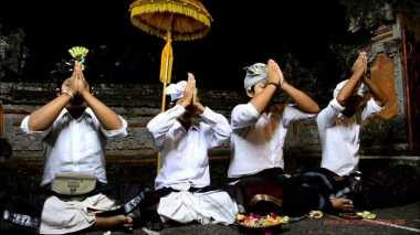 Mohon Keselamatan, Pemprov Bali Gelar Ritual