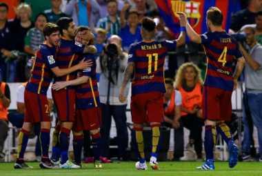 Pique Optimistis Barca Juara La Liga