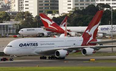 Penerbangan Qantas Delay Dua Jam Gara-Gara Nama WiFi