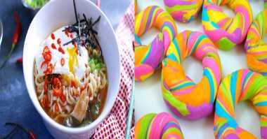 Ramen sampai Rainbow Bagel, Makanan Paling Dicari di Google