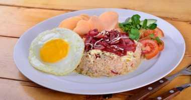 Resep Sarapan Praktis Nasi Goreng Smoked Beef