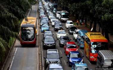 Lalu Lintas Jakarta, Semanggi dan Harmoni Terpantau Padat