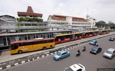 Ada SPBG Online, Bus Transjakarta Tak Perlu Keluar Jalur untuk Isi Bahan Bakar