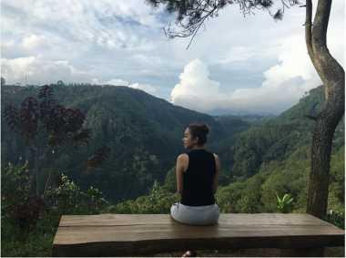 FOTO: Kalibiru Tempat Aura Kasih Hilangkan Suntuk