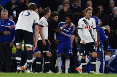 Perkelahian Hiasi Laga Chelsea Kontra Tottenham Hotspur