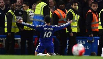 Gol Hazard Bukan untuk Leicester City